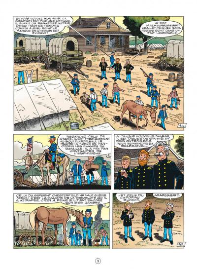 Page 3 les tuniques bleues tome 55 - indien, mon frère