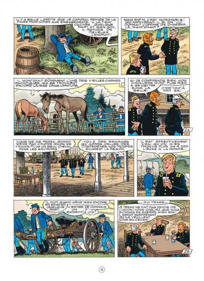 Page 4 les tuniques bleues tome 55 - indien, mon frère