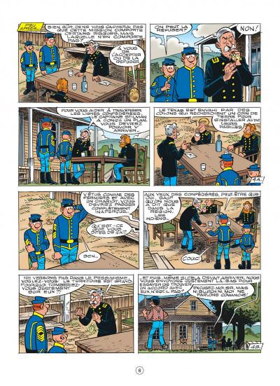 Page 6 les tuniques bleues tome 55 - indien, mon frère