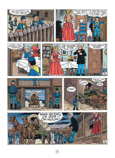 Page 9 les tuniques bleues tome 55 - indien, mon frère