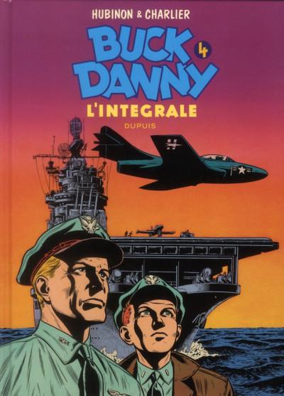 Couverture Buck Danny - intégrale tome 4 - 1953-1955