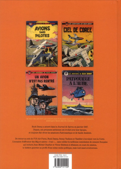 Dos Buck Danny - intégrale tome 4 - 1953-1955