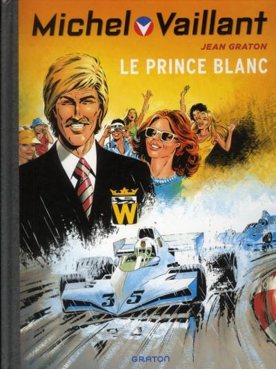 Couverture Michel Vaillant tome 30 - le prince blanc