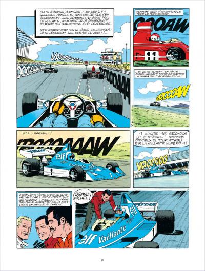 Page 3 Michel Vaillant tome 30 - le prince blanc