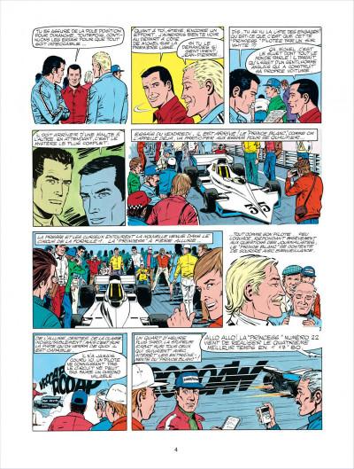 Page 4 Michel Vaillant tome 30 - le prince blanc
