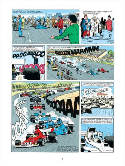 Page 5 Michel Vaillant tome 30 - le prince blanc