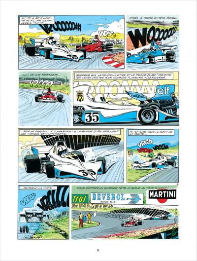 Page 6 Michel Vaillant tome 30 - le prince blanc
