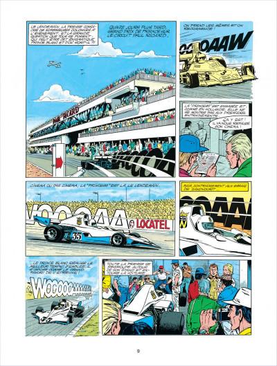 Page 9 Michel Vaillant tome 30 - le prince blanc