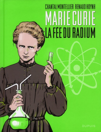 image de Marie Curie, la fée du radium