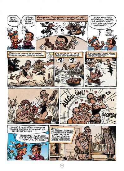 Page 4 le petit Spirou tome 16 - t'es gonflé !