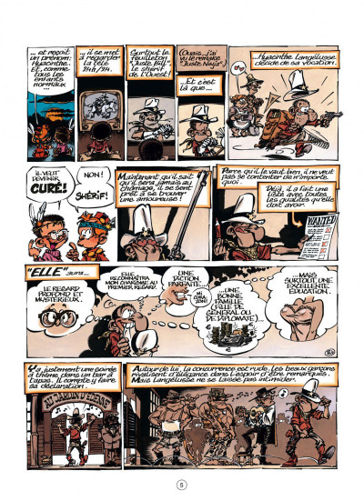 Page 5 le petit Spirou tome 16 - t'es gonflé !