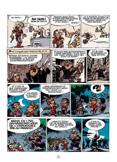 Page 8 le petit Spirou tome 16 - t'es gonflé !