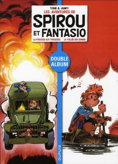 image de Spirou et Fantasio - dyptique tome 3 - la frousse aux trousses - la vallée des bannis