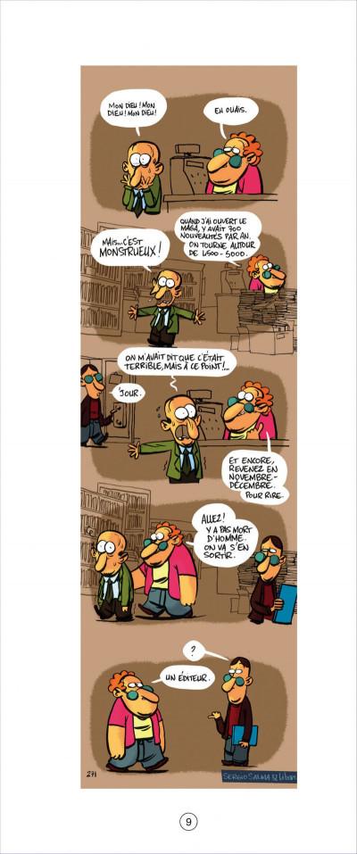 Page 9 animal lecteur tome 3 - on peut pas tout lire !