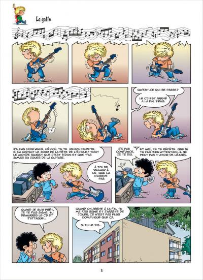 Page 3 cedric tome 26 - graine de star