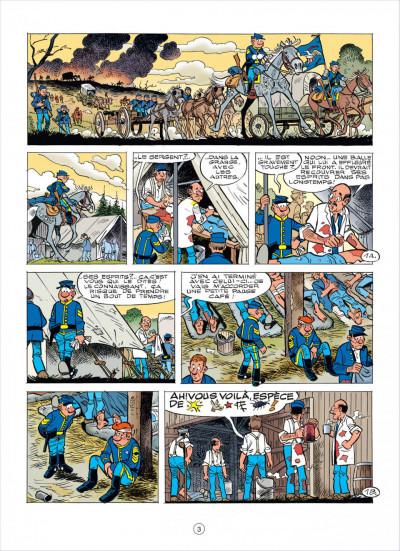 Page 2 les tuniques bleues tome 56 - dent pour dent