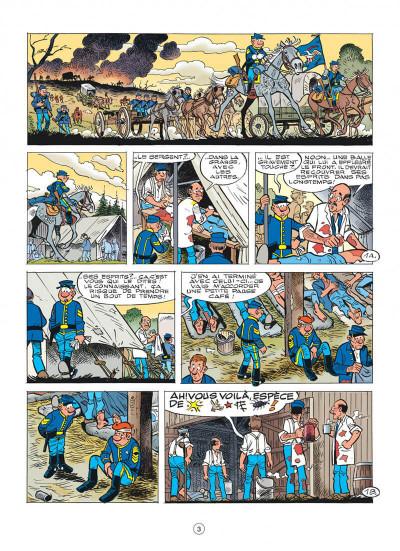 Page 3 les tuniques bleues tome 56 - dent pour dent