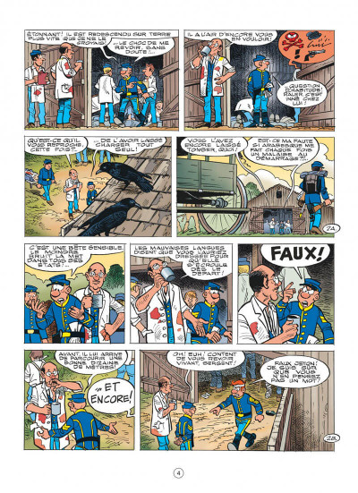 Page 4 les tuniques bleues tome 56 - dent pour dent