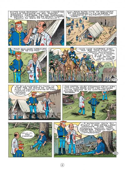 Page 6 les tuniques bleues tome 56 - dent pour dent