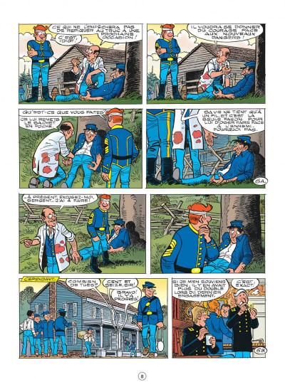 Page 8 les tuniques bleues tome 56 - dent pour dent