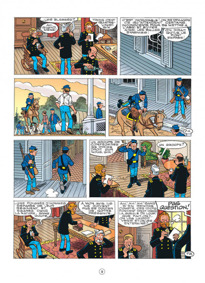 Page 9 les tuniques bleues tome 56 - dent pour dent