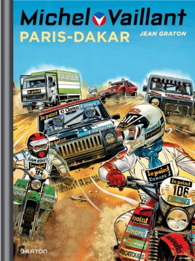 Couverture Michel Vaillant tome 41 - Paris-Dakar