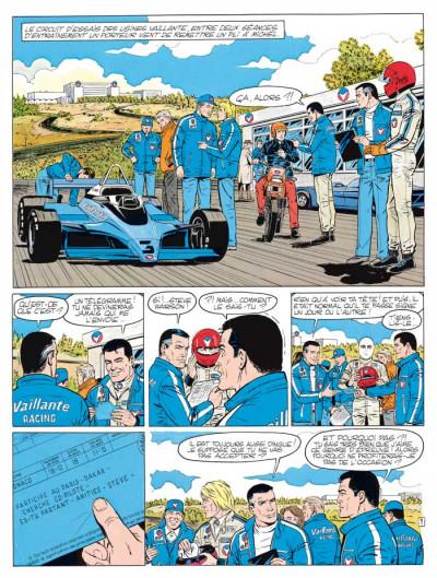 Page 1 Michel Vaillant tome 41 - Paris-Dakar