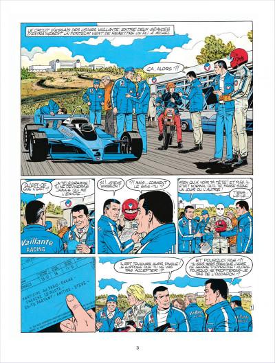 Page 3 Michel Vaillant tome 41 - Paris-Dakar