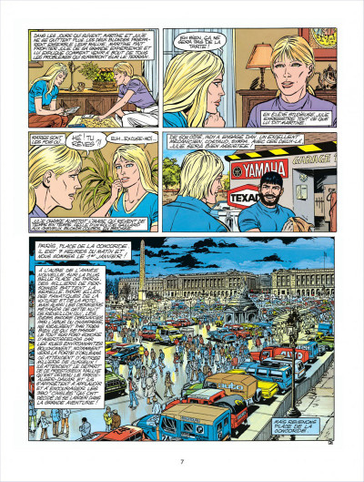 Page 7 Michel Vaillant tome 41 - Paris-Dakar