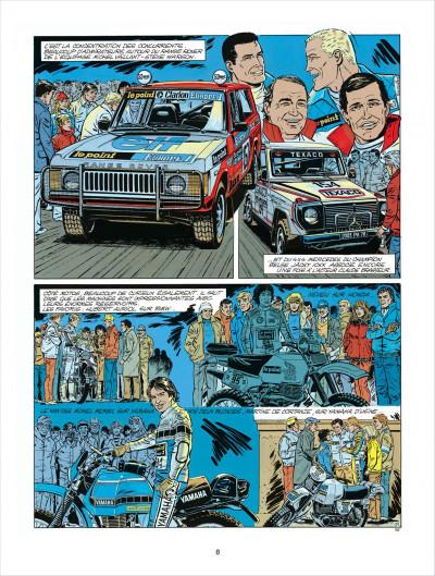 Page 8 Michel Vaillant tome 41 - Paris-Dakar