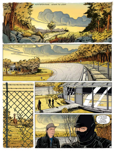 Page 1 Michel Vaillant tome 64 - opération mirage