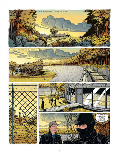 Page 3 Michel Vaillant tome 64 - opération mirage