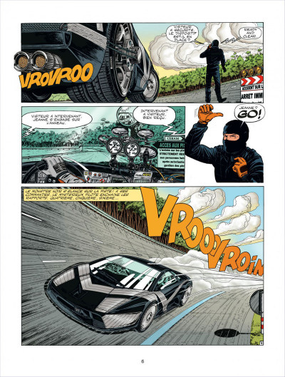 Page 6 Michel Vaillant tome 64 - opération mirage
