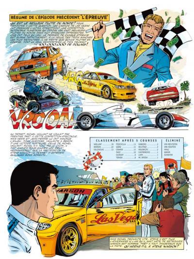 Page 1 Michel Vaillant tome 66 - 100.000.000$ pour Steve Warson