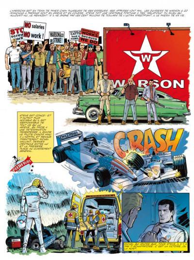 Page 2 Michel Vaillant tome 66 - 100.000.000$ pour Steve Warson