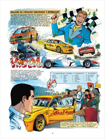 Page 3 Michel Vaillant tome 66 - 100.000.000$ pour Steve Warson