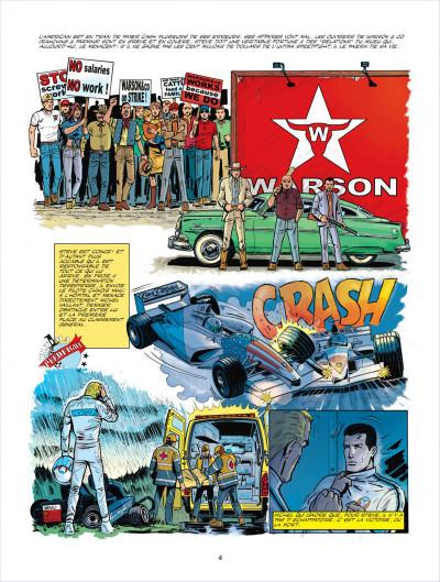 Page 4 Michel Vaillant tome 66 - 100.000.000$ pour Steve Warson