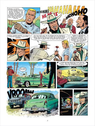 Page 7 Michel Vaillant tome 66 - 100.000.000$ pour Steve Warson