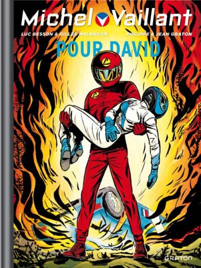Couverture Michel Vaillant tome 67 - pour David