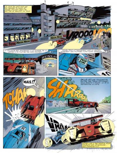 Page 1 Michel Vaillant tome 67 - pour David