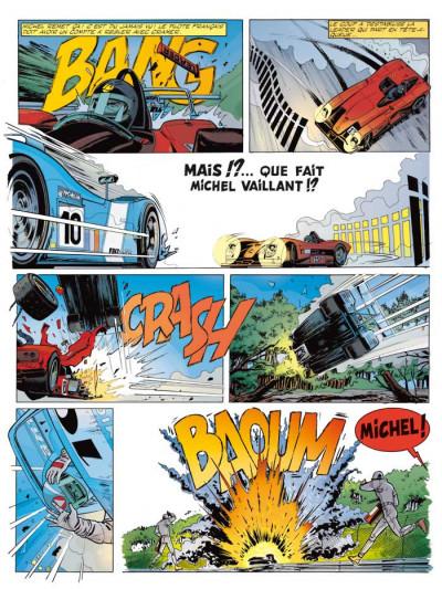 Page 2 Michel Vaillant tome 67 - pour David