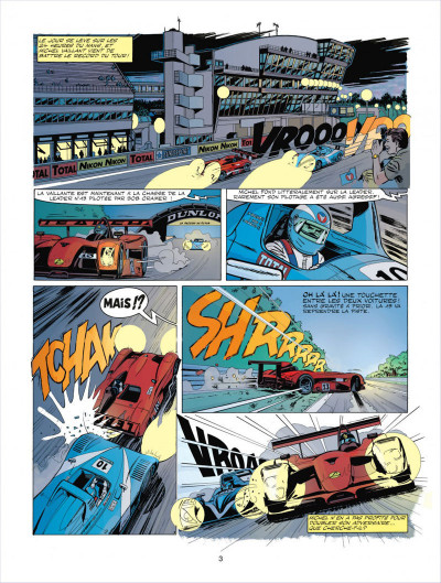 Page 3 Michel Vaillant tome 67 - pour David
