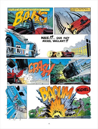 Page 4 Michel Vaillant tome 67 - pour David