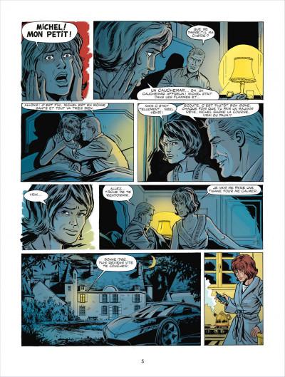 Page 5 Michel Vaillant tome 67 - pour David
