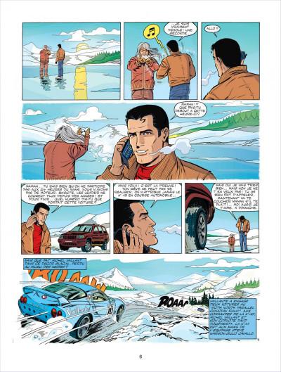 Page 6 Michel Vaillant tome 67 - pour David