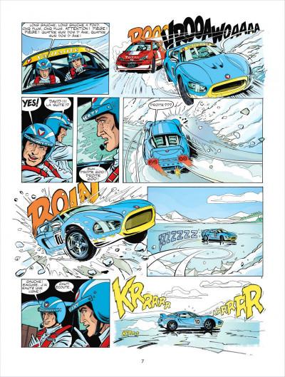 Page 7 Michel Vaillant tome 67 - pour David