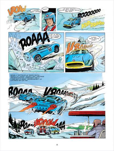 Page 8 Michel Vaillant tome 67 - pour David