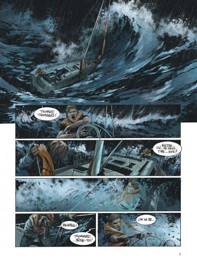 Page 3 Ni terre ni mer tome 1