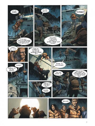 Page 7 Ni terre ni mer tome 1