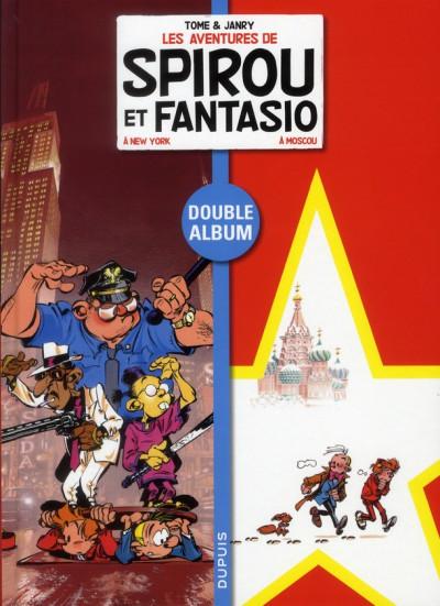 image de Spirou et Fantasio - dyptique tome 6 - Spirou et Fantasio à New York - Spirou et Fantasio à Moscou